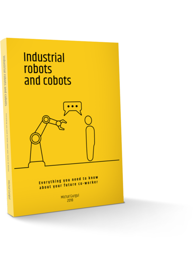 Robotics book : Industrial robots & cobots: - book, handbook, textbook